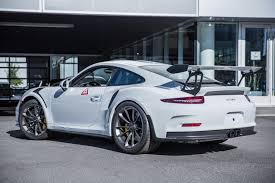 porsche gt3 grey vancouver u0027s first 2016 porsche 911 gt3 rs delivered gtspirit