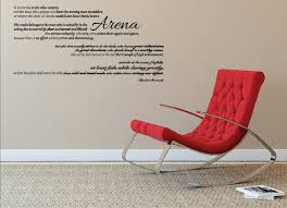 man in arena teddy roosevelt wall quote wall decal