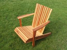 Used Adirondack Chairs Adirondack Chair From One Board 14 Steps With Pictures