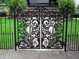 custom decorative gates and metal gate attachments