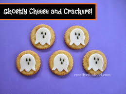 creative food simple halloween ghostly lunch ideas