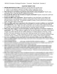 bio 1 exam 2 study guide doc at indiana university of pennsylvania