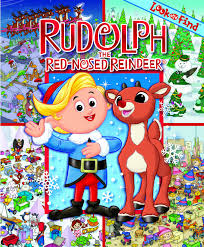 rudolph red nosed reindeer hardcover book
