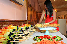 mami eggroll cambodian wedding reception at pailin