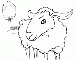 marvelous sheep coloring sheet photo 38 extraordinary
