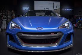 subaru brz front bumper subaru brz sti concept the car we wish they released years ago