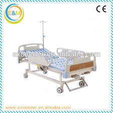 used hospital beds for sale with adjustable iv pole two functions manual used hospital bed
