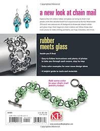 jewelry rubber rings images New connections in chain mail jewelry with rubber and glass rings jpg