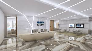 Home Office Ceiling Lighting by Reception Office Design And Build Visual For Energy Company Wall