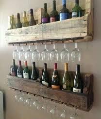 Homemade Wooden Shelves by Best 25 Wine Shelves Ideas On Pinterest Wine Glass Shelf