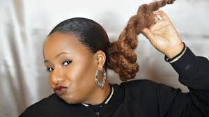 weave ponytail on natural hair all about hair weaving