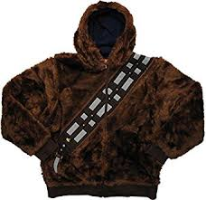 amazon com star wars chewbacca han solo reversible hoodie clothing