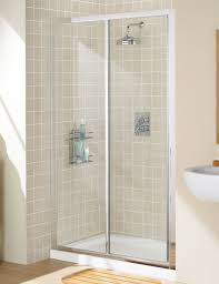 Lakes Shower Door Classic Framed Slider Shower Door 1200mm Silver