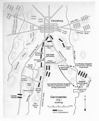 Gettysburg Map Map Hero Map Illustration U0026 Design