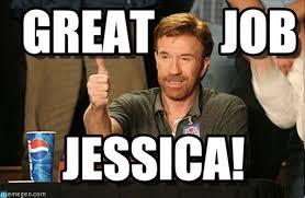 Jessica Meme - jessica chuck norris approves meme on memegen