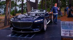 news vision mercedes maybach 6 cabriolet sensual emotional