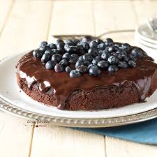 blueberry chocolate cake gluten free dairy free paleo