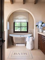 Rustic Bathroom Ideas Hgtv Photos Hgtv Rustic Neutral Bathroom With Exposed Beams And Stone