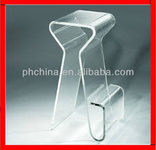 Bar Stool Top Jac 051 Clear Acrylic Bar Stool Top Grade Chair With Pedal
