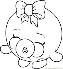 bubbles shopkins coloring free shopkins coloring pages