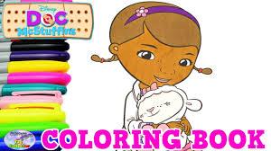 disney junior coloring book doc mcstuffins lambie episode surprise
