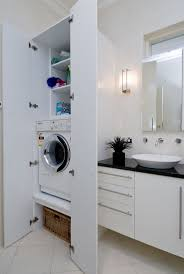 Space Saving Laundry Ideas White by Bathroom Cabinets Furniture Bathroom Space Saving Bathroom