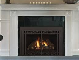 Best Gas Insert Fireplace by Gas Fireplace Inserts One And Two Sided Heatilator