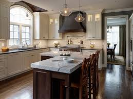 Kitchen With L Shaped Island Sophisticated L Shaped Kitchen With Island Flooring Home Ideas