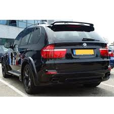Bmw X5 E70 - bmw e70 x5 hm style rear boot lid trunk spoiler wing
