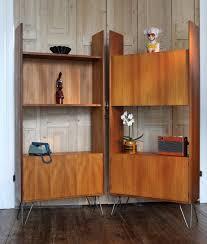 g plan teak retro room divider bookcase unit on hairpin legs mid