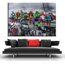 online shop xdr149 oil painting canvas super hero spider man online shop xdr149 oil painting canvas super hero spider man batman iron man cartoon modular home decor modern wall pictures posters aliexpress mobile