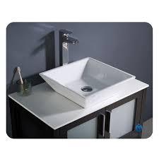 Modern Bathroom Sink And Vanity by Fresca Torino 30