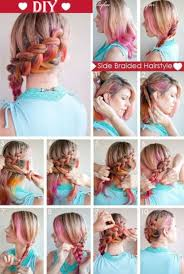 braided hairstyle instructions step by step 101 easy diy hairstyles for medium and long hair to snatch attention