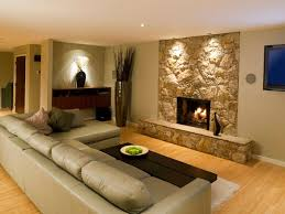 interior cool basement finishing ideas in living room laminate