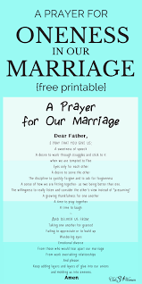 marriage prayers for couples a prayer for oneness in our marriage with free printable club