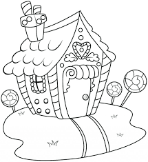 printable gingerbread house colouring page coloring pages printable color pages print out these fun