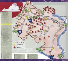 Charlottesville Zip Code Map by Things To Do
