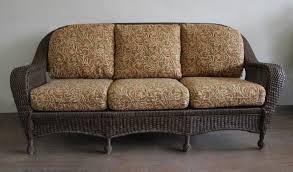 All Weather Wicker Loveseat Winward Wicker 3 Seater Sofa All About Wicker