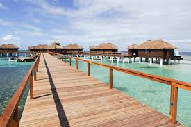 why the caribbean u0027s first overwater bungalows were 50 years in the