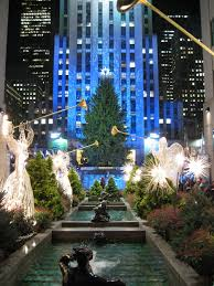 famous christmas tree in new york christmas lights decoration