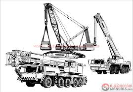 liebherr crane service manual maintenance manual operating