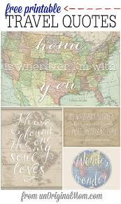 themed sayings free printable travel quotes free printable gift and free
