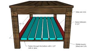 Woodworking Plans Coffee Tables by Outdoor Coffee Table Woodworking Plans Woodshop Plans