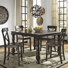 Extendable Dining Tables by Signature Design By Ashley Gerlane Counter Height Extendable