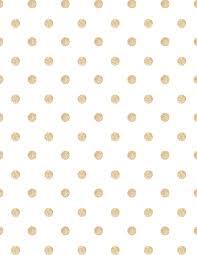 free printable digital paper gold glitter polka dot white