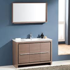 18 Inch Bathroom Vanities by Fresca Bath Fvn8148go Allier 48