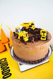 easy construction birthday cake merriment design