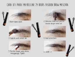 Maybelline Pensil Alis maybelline 24 hours fashion brow mascara magellanictivity