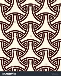 seamless pattern traditional japanese ornament three stock vector