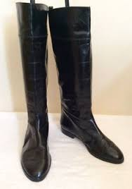 womens boots size 4 marks spencer black knee length boots size 4 5 37 5 40